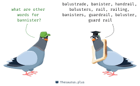 Definition Banister Words Bannister And Barrier Have Similar Meaning
