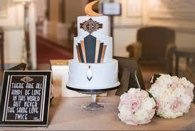 art deco great gatsby wedding cake restoration cake