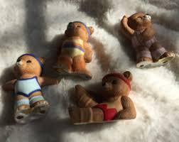 Home Interior Bears Figurine Bears Etsy