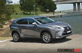 lexus rx200t australia 2015 lexus nx 300h luxury review video performancedrive
