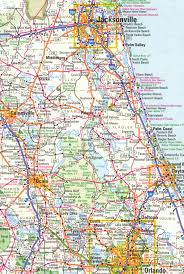 Florida Zip Code Map by North East Florida Map Deboomfotografie