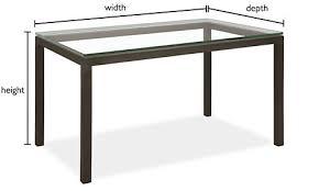 Glass Sofa Table Modern Parsons Custom Dining Table Modern Custom Dining Tables Modern