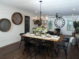 joanna gaines dining room lighting room design ideas