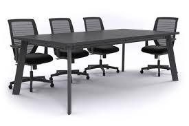 Black Boardroom Table Switch Boardroom Table Black Frame 2400l X 1200w