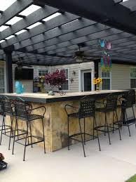 outdoor kitchen bar stools bar stools for patio and bar