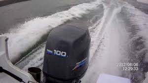 yamaha 100 four stroke outboard engine yamaha marine youtube