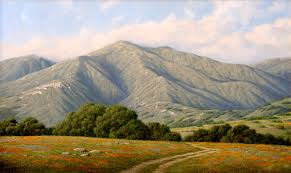 California landscapes images Ralph waterhouse plein air paintings landscape painter oil jpg
