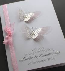unique and delicate personalised wedding anniversary cards