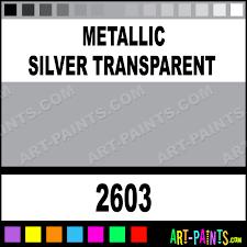 metallic silver transparent metallic acrylic metal and metallic