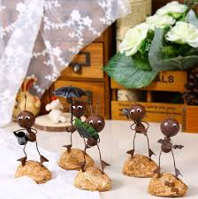 online buy wholesale metal ants garden decoration from china metal