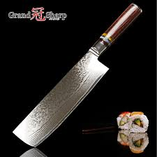 asian kitchen knives nakiri knife 7 inch 67 layers japanese damascus stainless steel