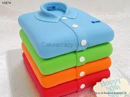 novelty cakes stacked polo shirts cake cakescrazy bespoke novelty cakes 10874