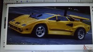 fake lamborghini replica countach replica kit car
