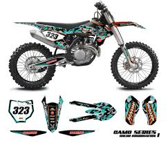 graphics for motocross bikes ktm graphics kit camo omx graphics