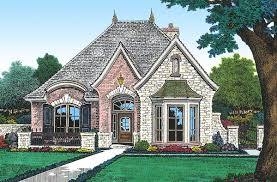 plan 48033fm petite french cottage french cottage flagstone