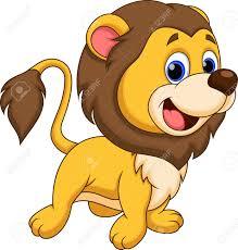 cute lion cartoon royalty free cliparts vectors stock