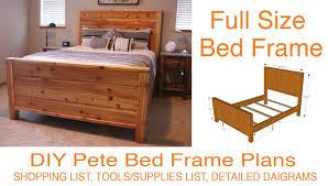 Farmhouse Bed Frame Plans Furniture Diy Farmhouse Bed Fresh Diy Bed Frame Plans How To