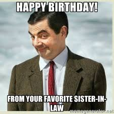 Funny Birthday Meme For Sister - funny birthday meme sister in law birthday cookies cake