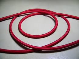 electric cable coloured
