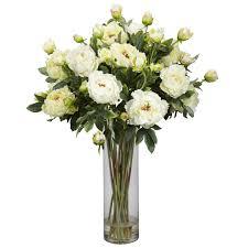 Artificial Flower Arrangement In Vase Decorating Flower Arran Artificial Flower Arrangements Silk