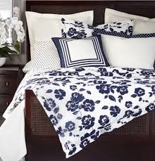 Ralph Lauren Comforter Cover Ralph Lauren King Duvet Winter Harbour Plaid Acadia Blue Cream