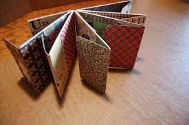 small scrapbook album envelope mini scrapbook