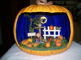 the spooky world of halloween pumpkin dioramas the lone in