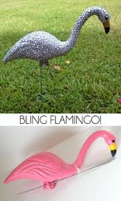 flamingo garden this is a really idea to fix up