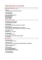 english teaching worksheets definite article