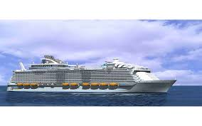 largest cruise ship in the world harmony of the seas enters final round of construction travel
