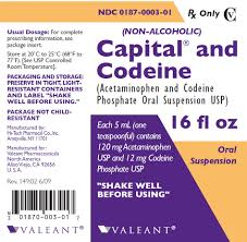 capital and codeine oral suspension acetaminophen and codeine