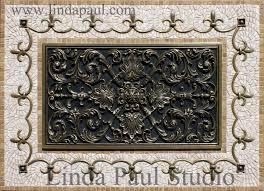 tile medallions for kitchen backsplash small decorative metal medallions inspiration kitchen backsplash
