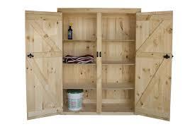 furniture reclaimed wood storage cabinet with shutter door panel