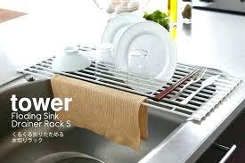 Kitchen Sink Dish Rack Ikea Dish Drainer Wooden Dish Rack Dynamicpeople Club