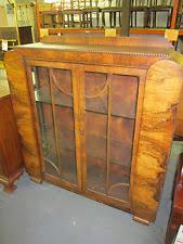 Art Deco Round Display Cabinet Art Deco Antique Cabinets U0026 Cupboards 1900 1950 Ebay