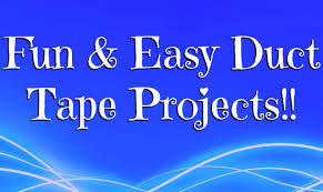 fun u0026 easy duct tape projects youtube