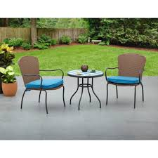 Mainstays Crossman 7 Piece Patio Dining Set Green Seats 6 - mainstays jayden 3 piece small space set walmart com