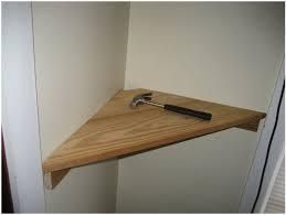 floating corner shelf plans architecture how to build unit diy on