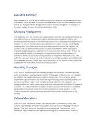 executive summary ikea retail marketing strategy