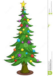 cartoon christmas tree stock images image 27803444