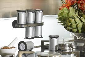 Soho Magnetic Spice Rack Magnetic Spice Rack From Zevro Kitchen Contraptions