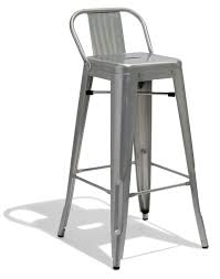 Low Back Bar Stool Industrial Mid Century And Modern Bar And Counter Stools For Home