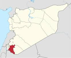 Syria World Map by Daraa Governorate Wikipedia