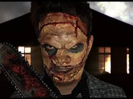 Texas Chainsaw Massacre Halloween Costume Leatherface Texas Chainsaw Massacre Makeup Tutorial