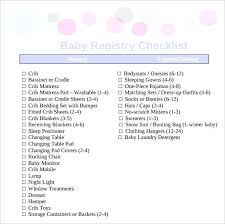 baby gift registry baby gift registry checklist bedroom sle 9 exle format carum
