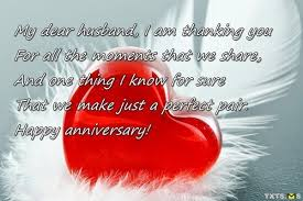 message to my husband on our wedding anniversary my dear husband txts ms