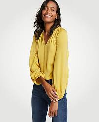 yellow blouse yellow tops blouses for