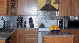 kitchen backsplash stainless steel tiles mid century modern backsplash tatertalltails designs stainless