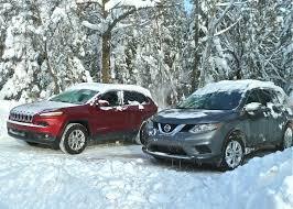 nissan rogue vs kia sorento cars of winter blow through toughest tests new car picks