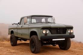 icon 4x4 dodge power wagon hemi restomod by icon is a cool pickup truck